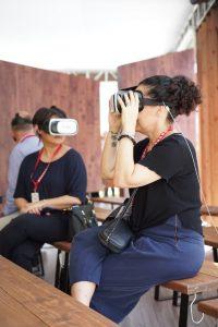 Óculos experiência colombiatex 2019